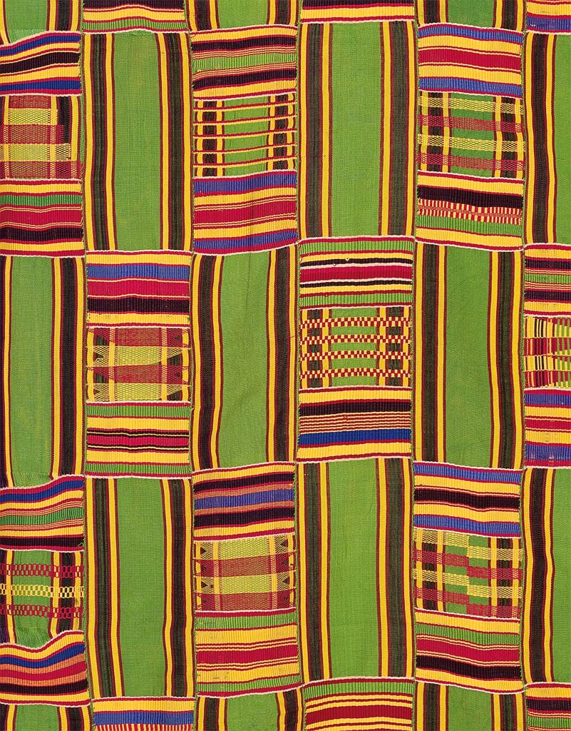 Woven Kente Cloth Materials For The Arts